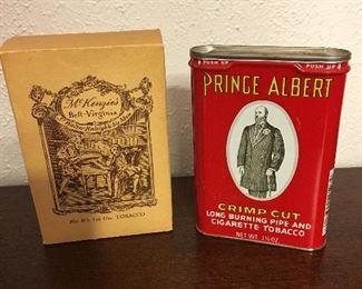 Prince Albert Tobacco Tin