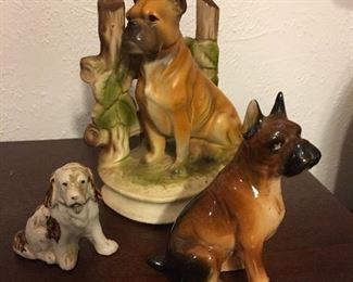 Porcelain Dog Figurines