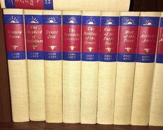 Vintage Zane  Grey Book Set