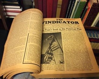 The Vindicator from the 1940s
