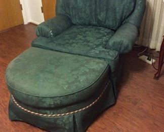Comfortable Chair wit ottoman