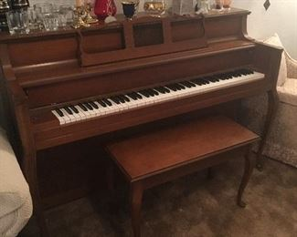 Beautiful Lowrey Piano