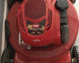 """Toro Recycler 22"""" mower"""