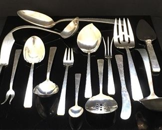 Towle Old Lace sterling serving pieces (15)