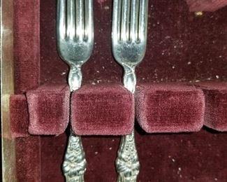 Silver Plate silver ware set