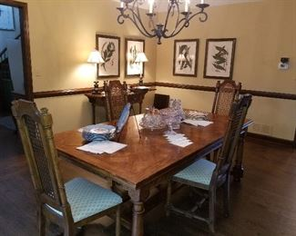 Century Dining Room includes table with 6 chairs, china cabinet, server, cabinet