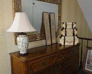 Baker,  Chest/Dresser, Large mirror