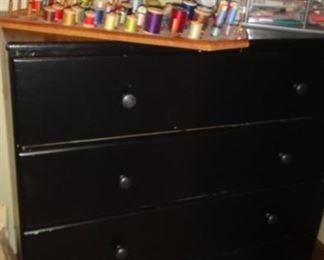 Chest of Drawers, Matching desk
