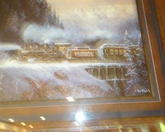 Train Print