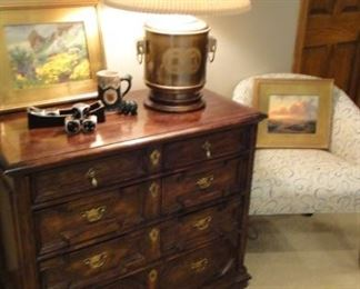 Century chest of drawers, matches dining room set