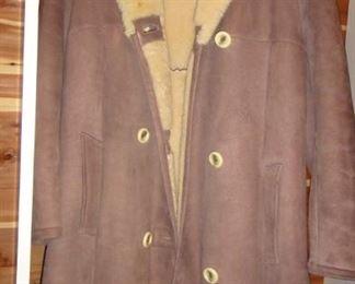 Shearling Men's coat
