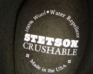 Stetson Crushable hat,