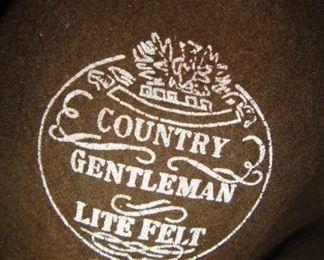 Country  Gentleman Life Felt hat