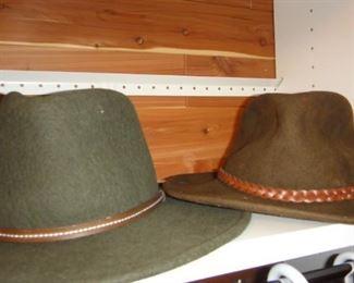 Country  Gentleman Life Felt hat, Stetson Crushable