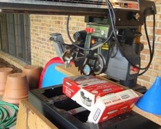 10in Craftsman Radial Arm Saw