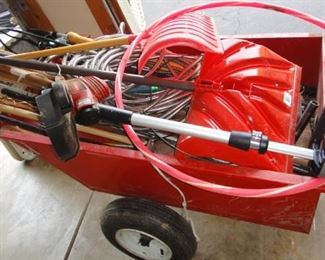 Garden Cart, Yard tools