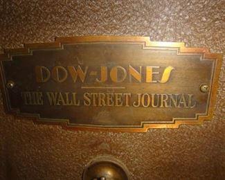 Dow Jones, The Wall Street Journal, Ticker Tape Machine, Circa 1930's