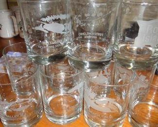 Great Courses Golf Glasses Set, 11 pieces