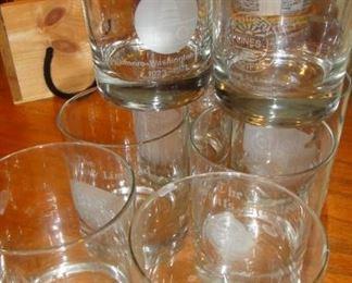 Rail Road Glasses, Bar Ware