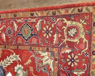 Hand Knotted Rug, Approx 8 X10