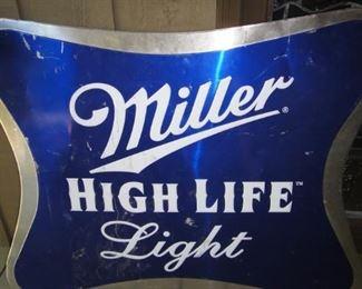 Miller High Life Sign