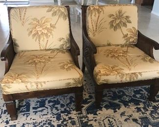 Great chairs. Tommy Bahama looking great quality