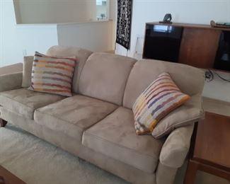 Newton Custom beige sofa