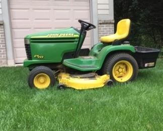 John Deer Mower