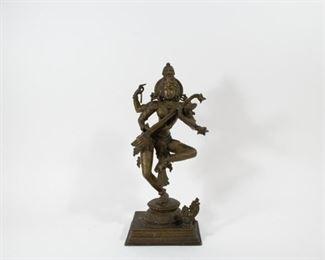 A Bronze Figure of Saraswati