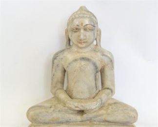 A Marble Figure of Tirthankara