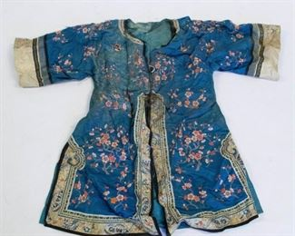 A Group of Embroidered Chinese Clothing