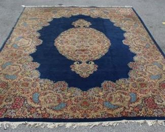 Antique and Finely Hand Woven Palace Size Kirman