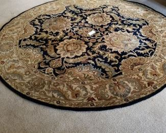 6 ft round rug