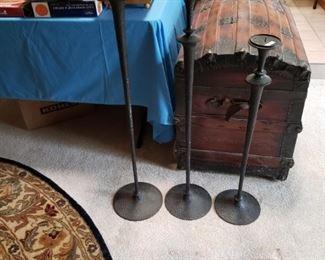 Bronze Candleholders