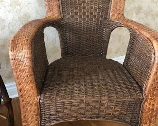 Bamboo Chairs (Set of 2)