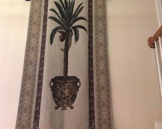 Tapestry w/rod