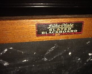 Vintage chalkboard!!  Too cute in a kitchen or anywhere!