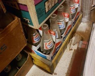 Pepsi Bottles & Crates