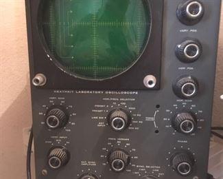 Oscilloscope by Heath Company, Model 10-30