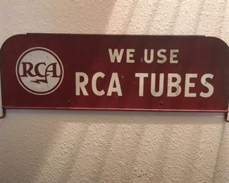 Advertising display sign by RCA