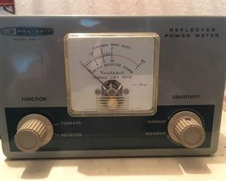 Amateur radio power meter by Heathkit
