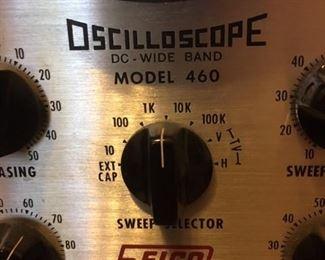 Detail of Eico Model 460