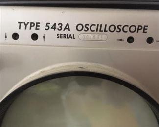 Oscilloscope, Type 543A by Tektronics