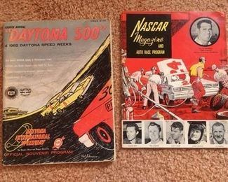 1962 Daytona 500 & Nascar programs