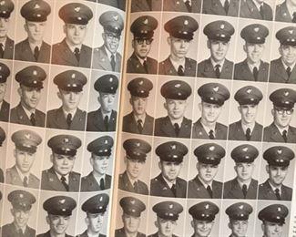 Inside spread of 1964 Fort Polk, LA yearbook