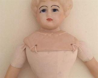 Detail of German doll