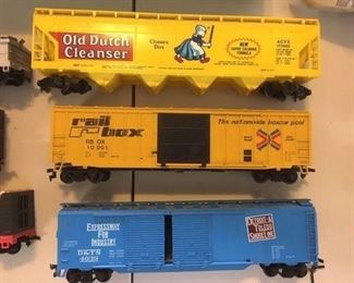 HO Scale Train Cars by Athearn