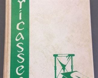 "1959 Yearbook, Baton Rouge High School, ""Fricassee"""