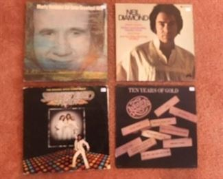 Marty Robbins, Neil Diamond, Bee Gees Saturday Night Fever, Kenny Rogers