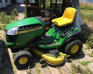 Lawn mower a year old. It has been used for134 hours